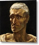 Head Of A Shipwrecked Man  Metal Print