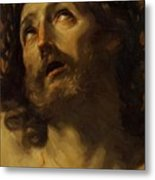 Head Of Christ Crowned With Thorns 1620 Metal Print