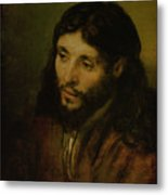 Head Of Christ Metal Print