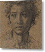 Head Of Saint John The Baptist Metal Print