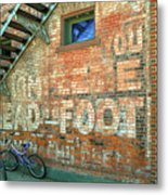 Head To Foot Metal Print