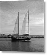 Headed Out To Sea Metal Print