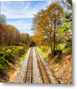 Headed West Metal Print