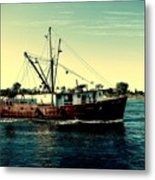 Heading Out - Jersey Shore Metal Print