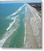 Heading South From Nsb Metal Print