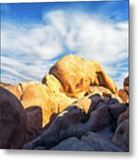 Heading To Arch Rock Metal Print