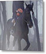 Headless Horseman Metal Print by Christine Till