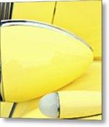 Headlights And Parkinglights Metal Print