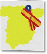 Heal Spain And Catalonia Metal Print