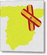 Heal Spain Metal Print