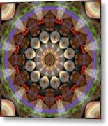 Healing Mandala 30 Metal Print