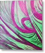 Healing Waves Metal Print