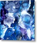 Healing With Blues Metal Print