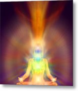 Healthy Aura Metal Print