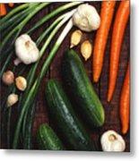 Healthy Vegetables Metal Print