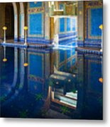 Hearst Pool Metal Print