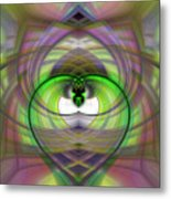 Heart 11 - Yin Metal Print