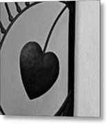 Heart Art Metal Print