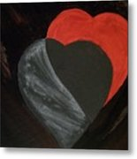 Heart Blocker Metal Print