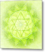 Heart Chakra Series Two Metal Print
