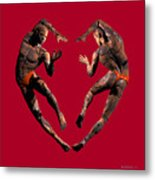 Heart Dance Metal Print