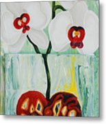 Heart In Bloom Metal Print