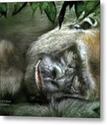Heart Of A Beast Metal Print