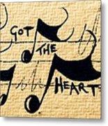 Heart Of A Star Metal Print