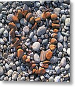 Heart Of Stones Metal Print