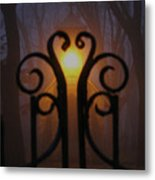 Heart Of The Cemetery Metal Print