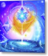 Heart Of The Galaxy Metal Print