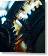 Heart Of The Machine - Time Metal Print