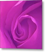 Heart Of The Rose Metal Print