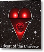 Heart Of The Universe Metal Print