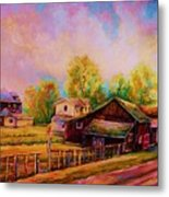 Hearth And Home Metal Print
