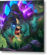 Hearthstone Heroes Of Warcraft Metal Print