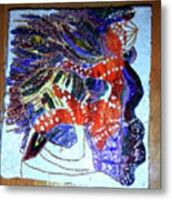 Hearts Drum 3 Metal Print