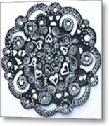 Hearty Metal Print