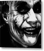 Heath Ledger Joker Metal Print