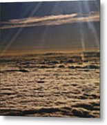 Heaven Above The Clouds Metal Print
