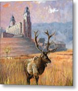 Heaven And Earth Metal Print by Jeff Brimley