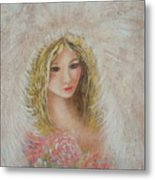 Heavenly Angel Metal Print