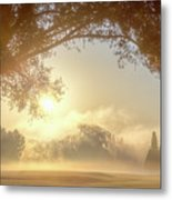 Heavenly Arch Sunrise Metal Print