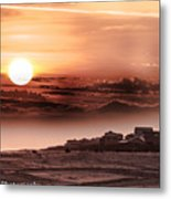 Heavenly City In The Sky Metal Print