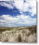 Heavenly Dune Metal Print