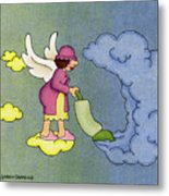 Heavenly Housekeeper Metal Print