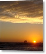 Heavenly Rays Metal Print