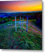 Heavenly Views Metal Print