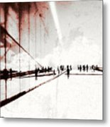 Heavenly Walk In Oslo 1 Metal Print by Marianne Hope