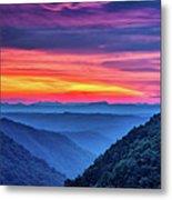 Heaven's Gate - West Virginia 6 Metal Print